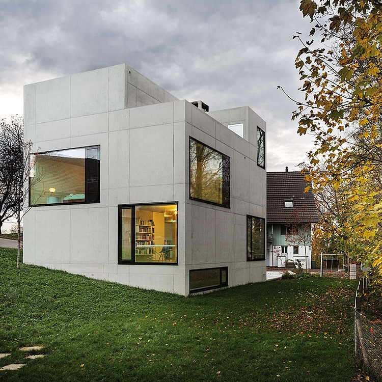 House in Menzingen by Amrein Herzig
