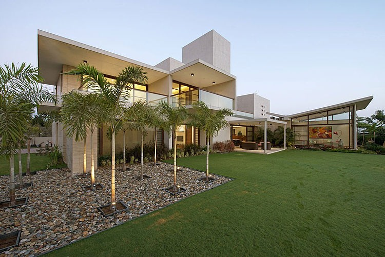 The Urbane House by Hiren Patel Architects