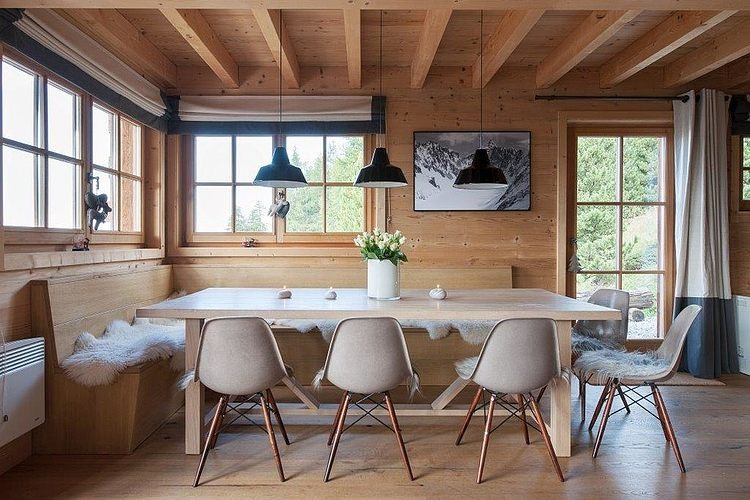 switzerland interior design chalet in switzerland by donatienne dogimont homeadore
