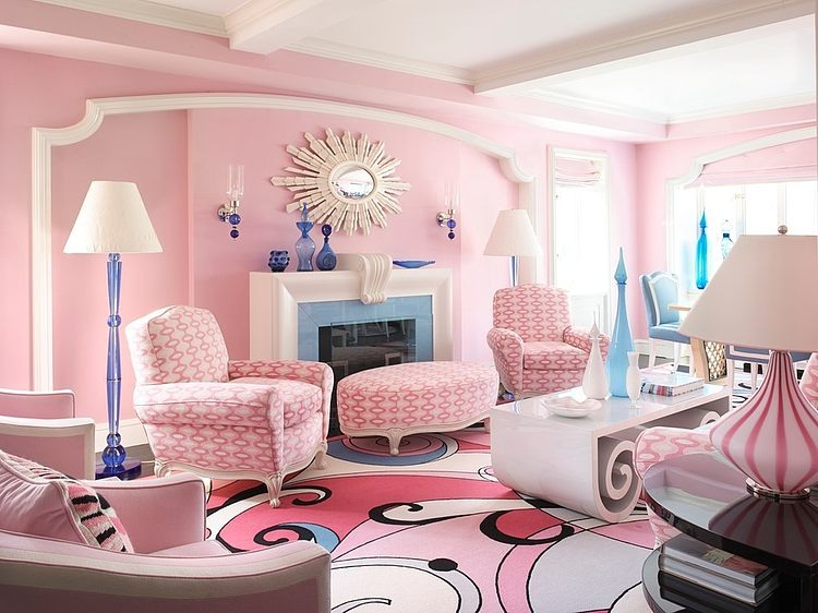 Pink Home in NYC by Anthony Baratta