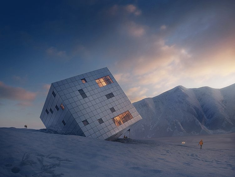 Kezmarska Hut by Atelier 8000