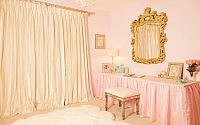 Pink and Gold Nursery Design