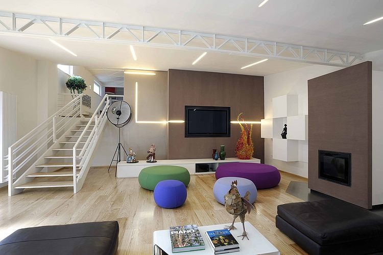 Loft in Rome by Angelo Luigi Tartaglia