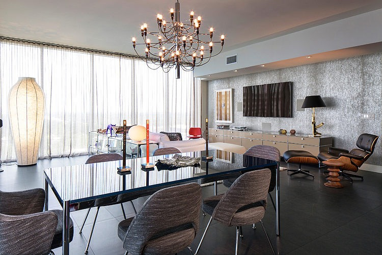 Hi-Rise Condo by Ted Maines Interiors