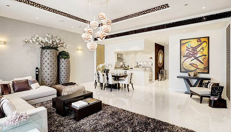 Palm Jumeirah Apartment by Zen Interiors