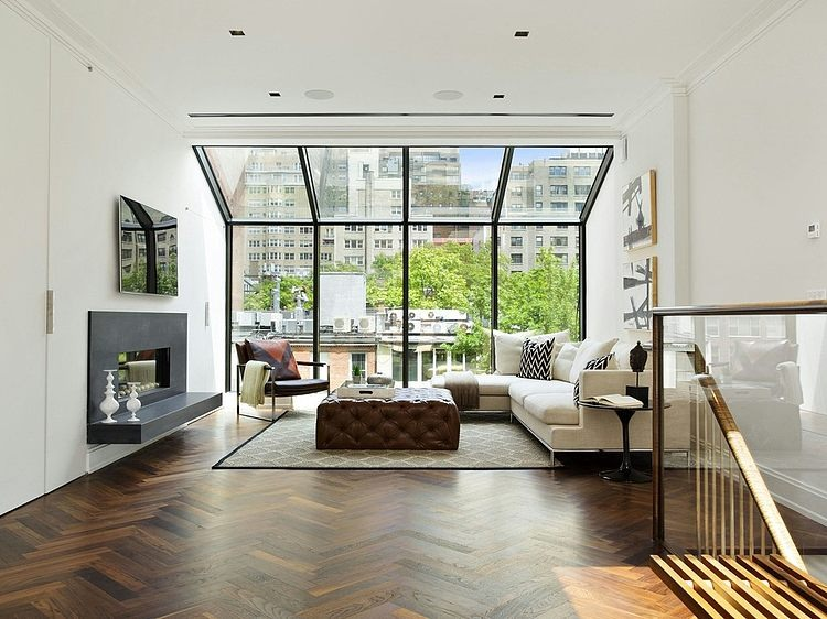 East Side Brownstone by Frank M. DeBono