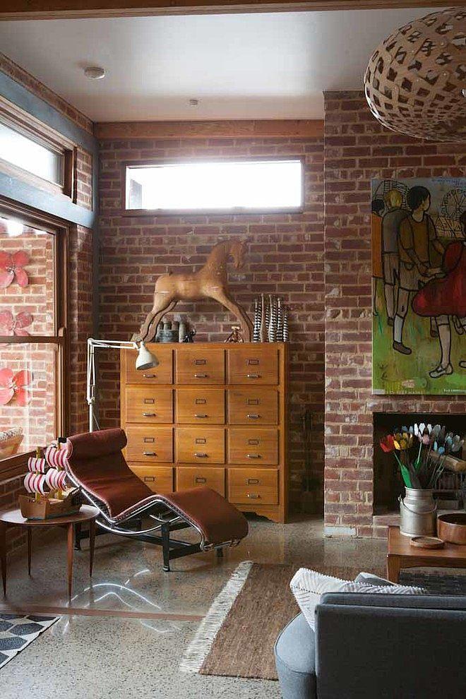 Osr house by osr interiors building design homeadore for Brique interieur