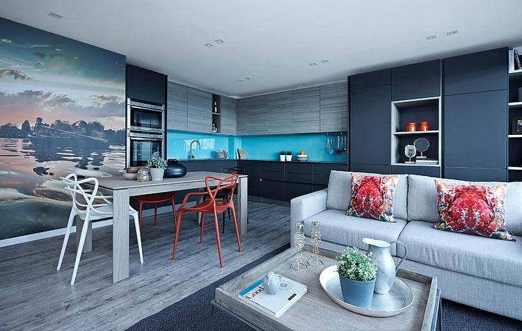 London Penthouse by Boscolo Interior Design