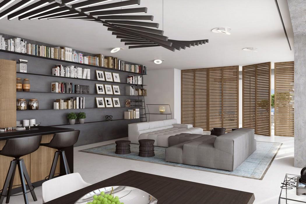 Indoor Boulevard by Tal Goldsmith Fish Design Studio