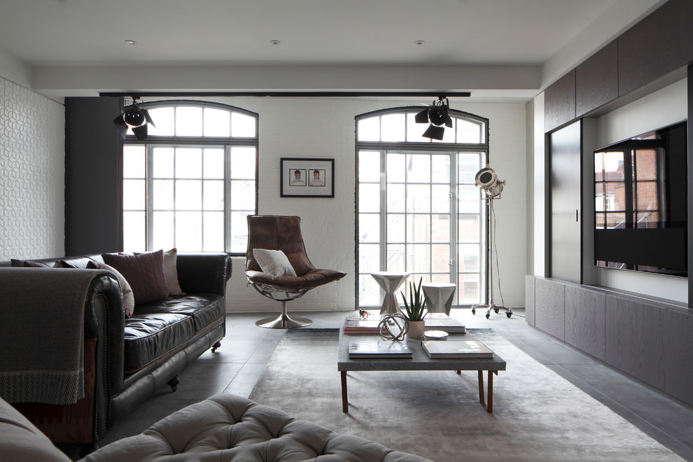 Nice Soho Apartment By Fine Edge Designs