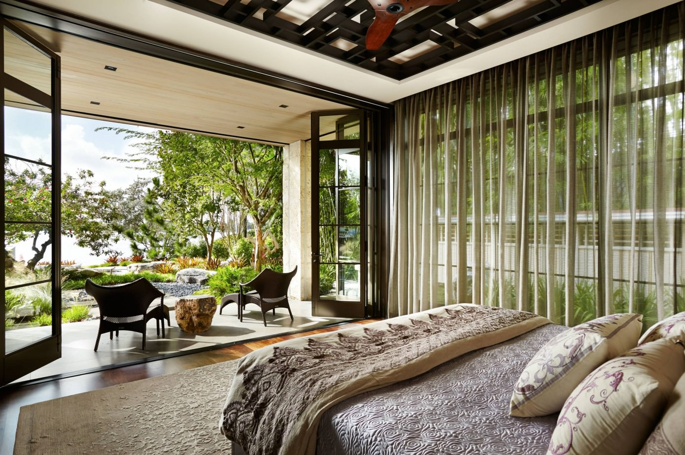 asian inspired home by mary washer designs homeadore - Inspired Home Design