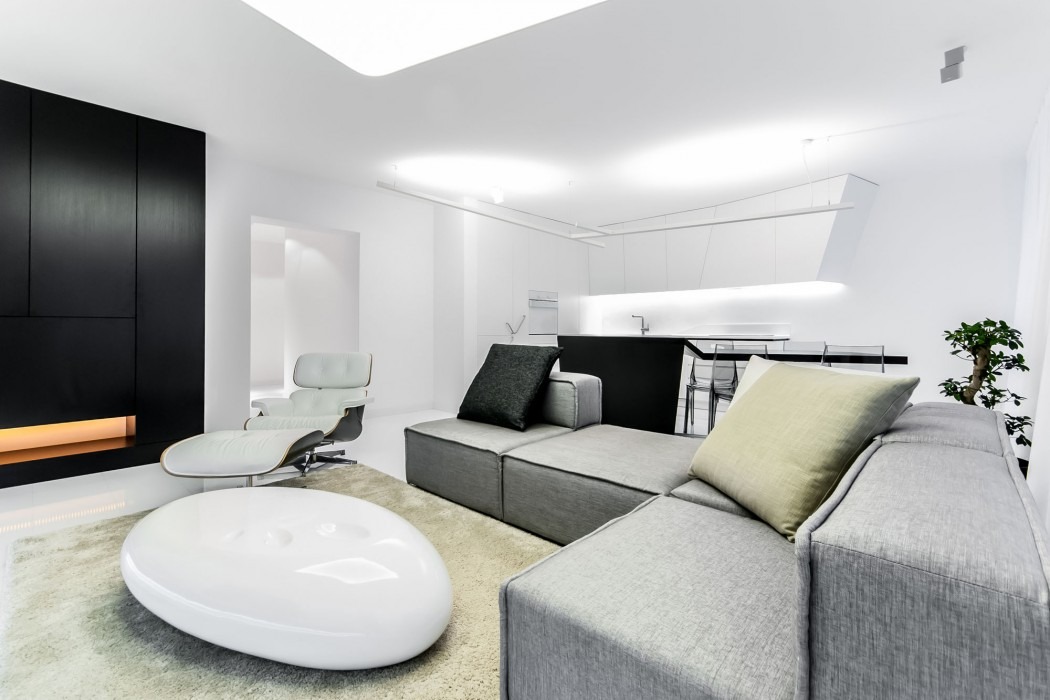 Futuristic Apartment by Rado Rick Designers