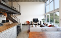 Capitol Hill Loft_Living