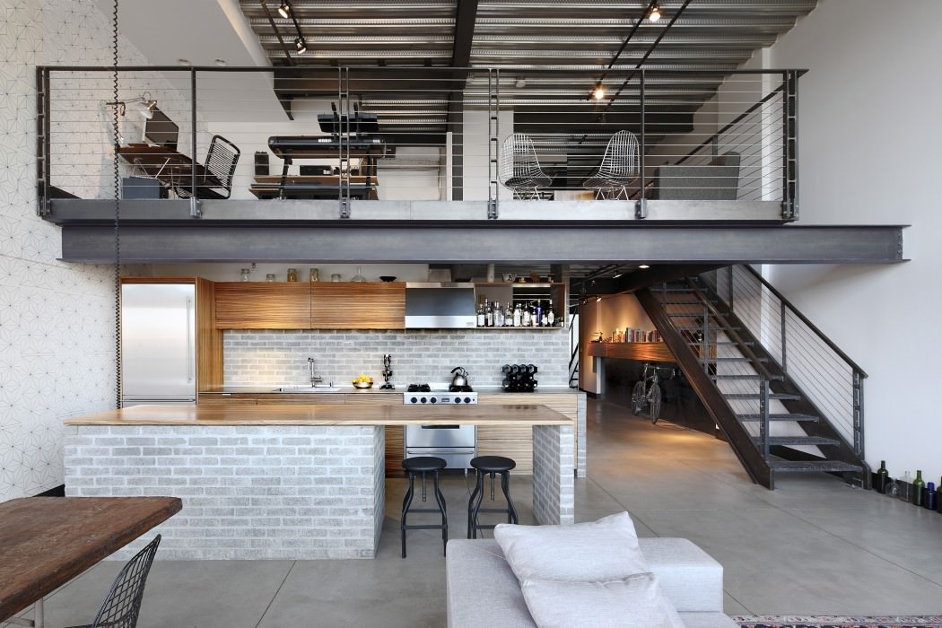 Industrial Loft By SHED Architecture Design HomeAdore