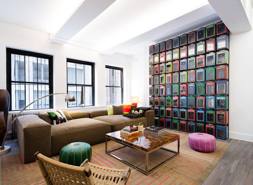 Flatiron Loft By Mad ? Matiz Architecture & Design | Homeadore Industrial Look Wohnzimmer