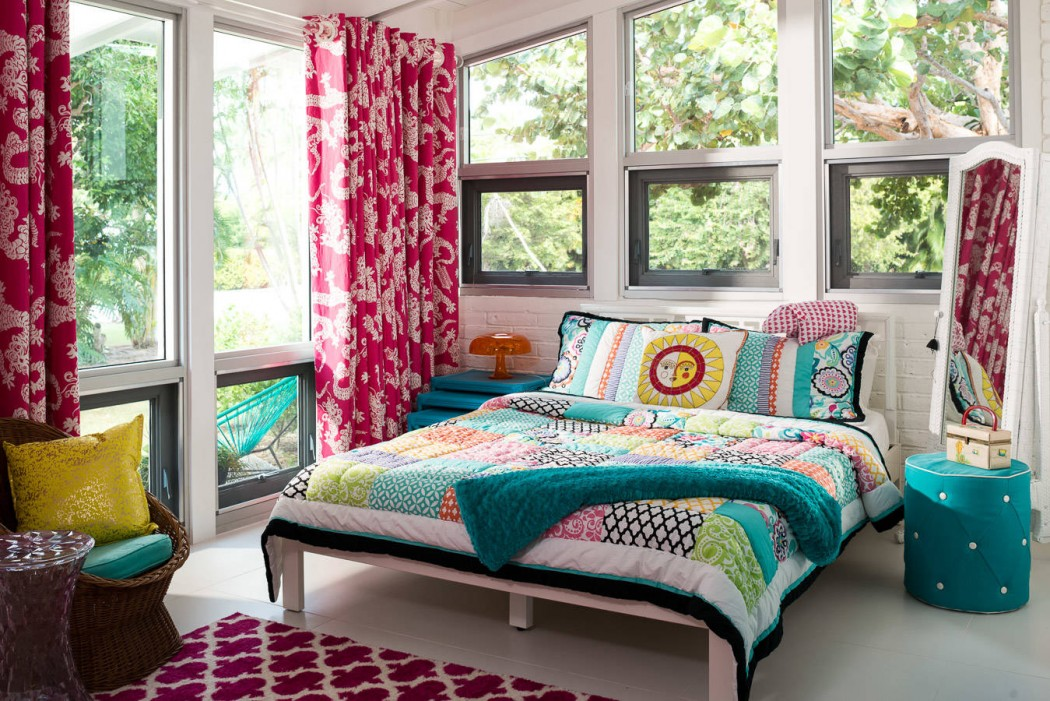 bedroom beautiful indian home decor with colorful bedding an