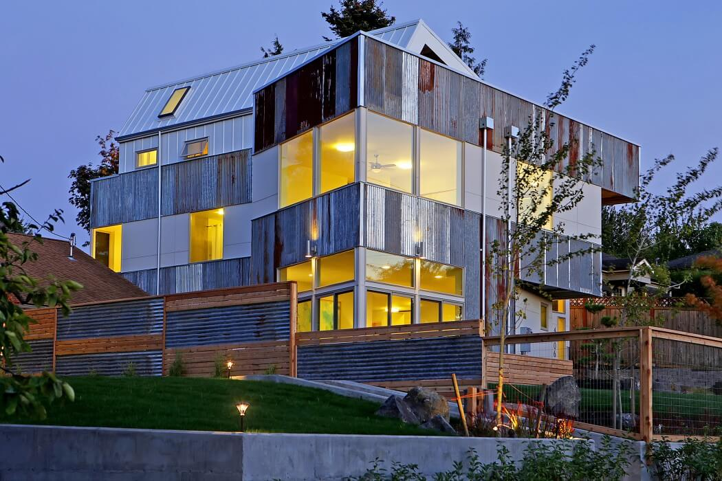 House in Seattle by Julian Weber
