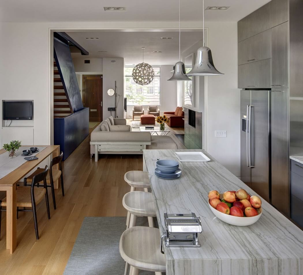 Beautiful State Street Townhouse By Ben Hansen