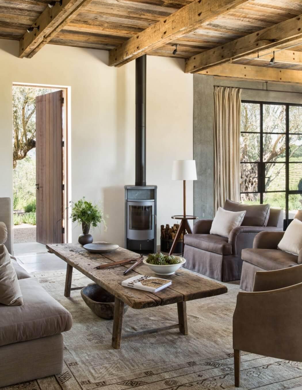 Healdsburg Ranch by Jute Interior Design HomeAdore