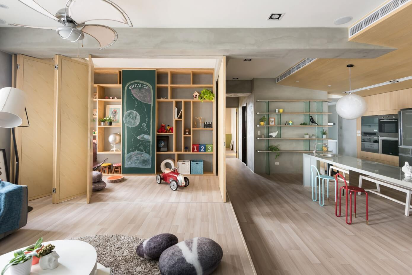Outer Space for Kids by Hao Interior Design « HomeAdore