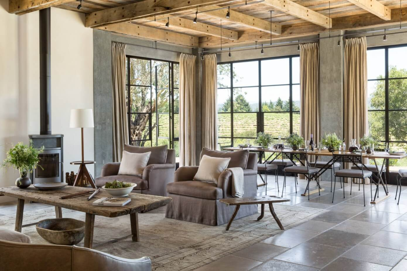 healdsburg ranch by jute interior design homeadore
