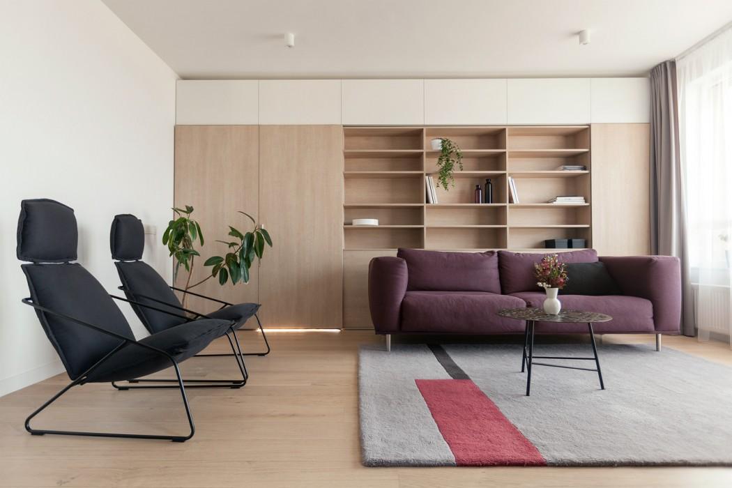 Apartment in Vilnius by Normundas Vilkas