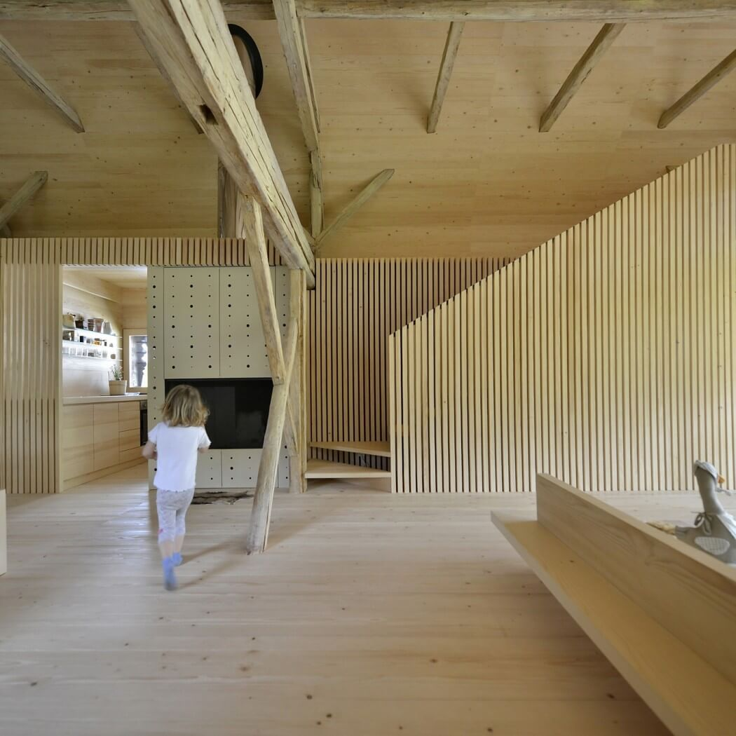 Alpine barn by ofis arhitekti homeadore for Ofis arhitekti