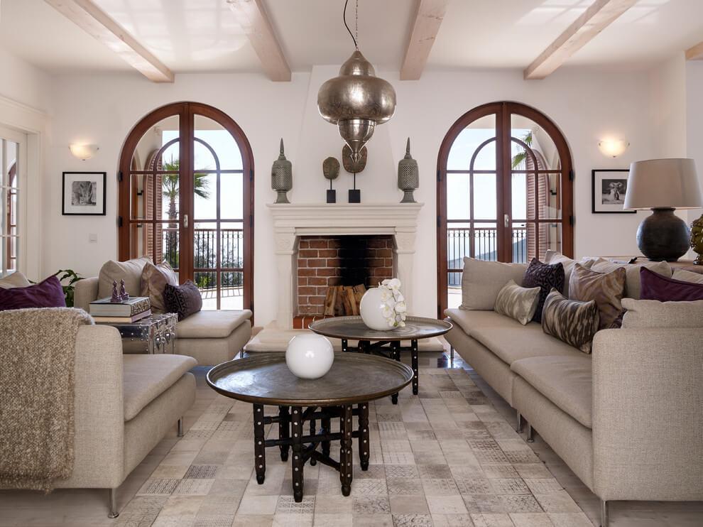 011 ethnicasian villa swanfieldliving homeadore - Deco salon ethnique chic ...