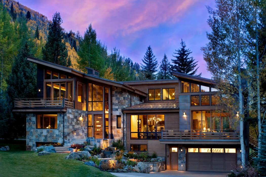 vail mountain residence by suman architects homeadore