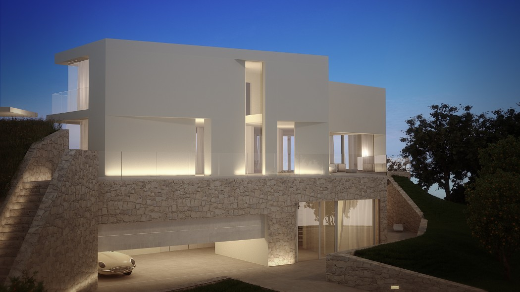 House in cala ambolo by ramon esteve estudio homeadore - Ramon esteve estudio ...