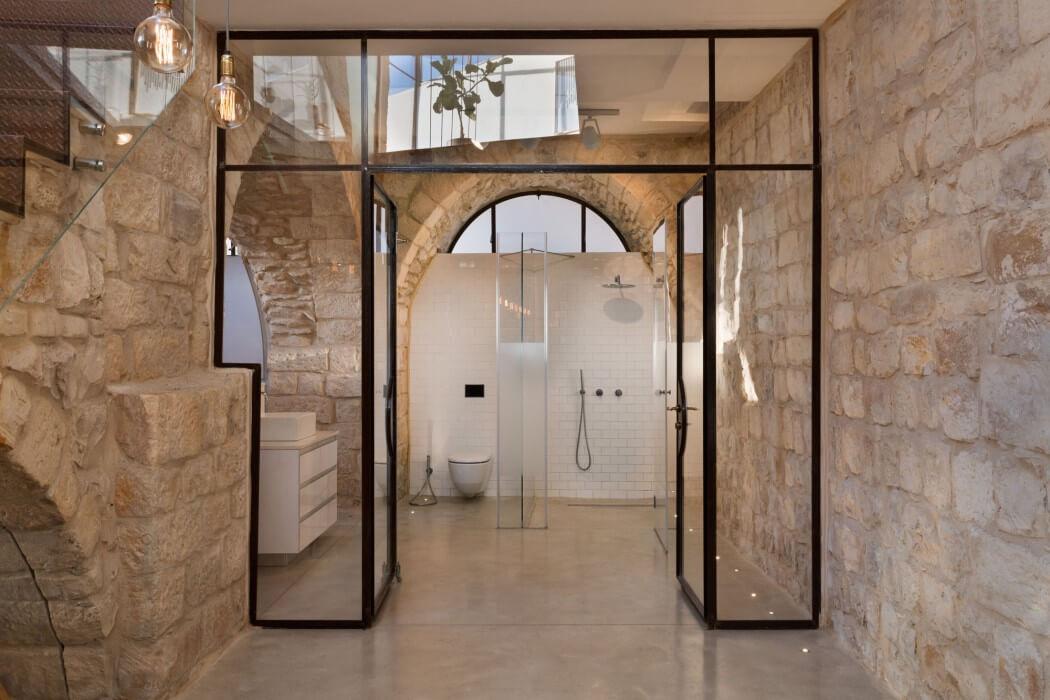 Stone House by Henkin Shavit Architecture & Design   HomeAdore