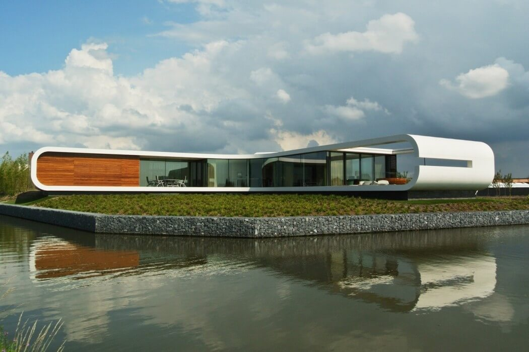 Villa New Water by Waterstudio Nl