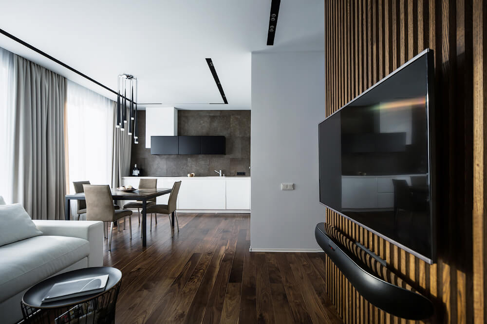 Apartment in St. Petersburg by Pavel Isaev