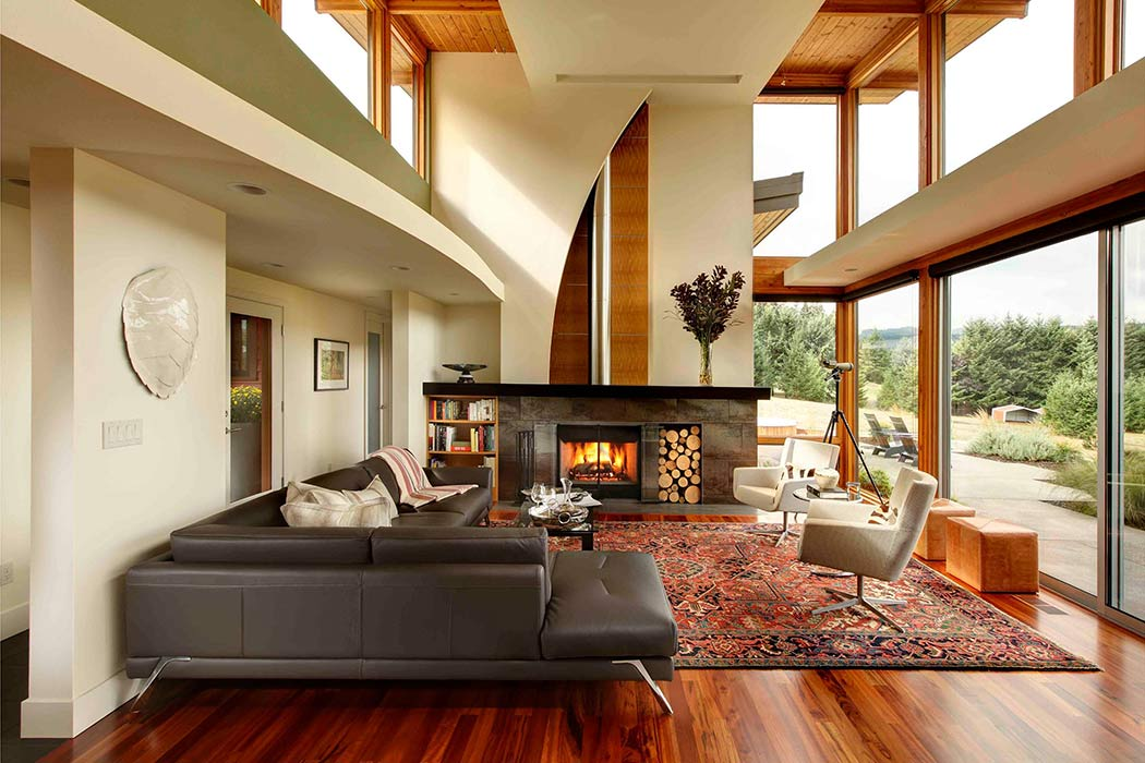 Modern Rural Residence by Anderson Shirley Architects