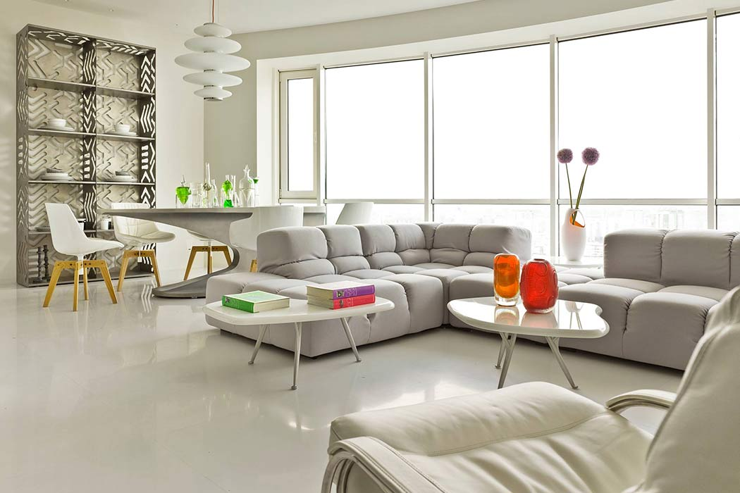 Apartment in Moscow by one over one