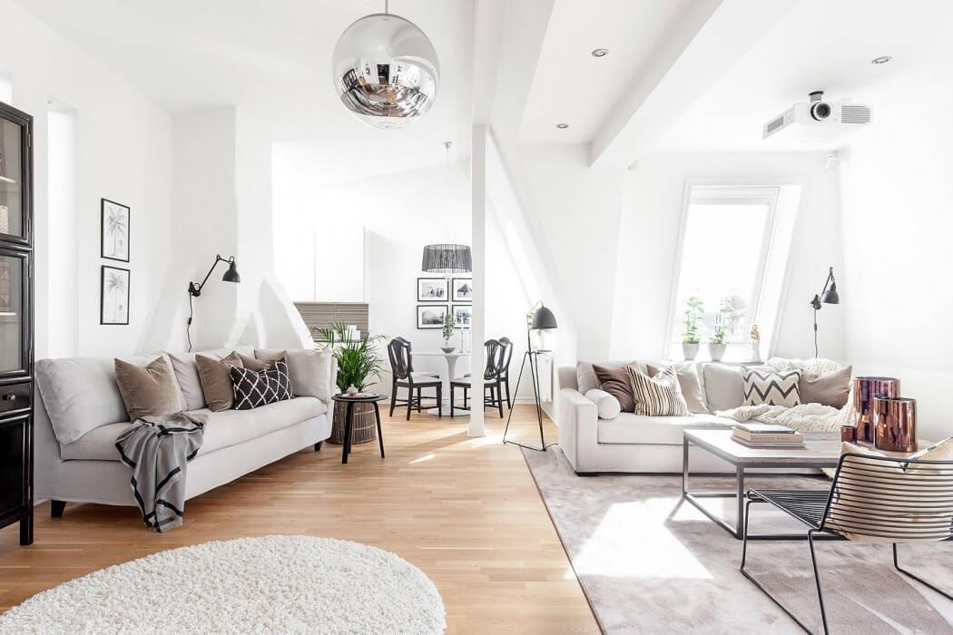 Modern Loft modern loft in gothenburgmoodhouse interiör | homeadore