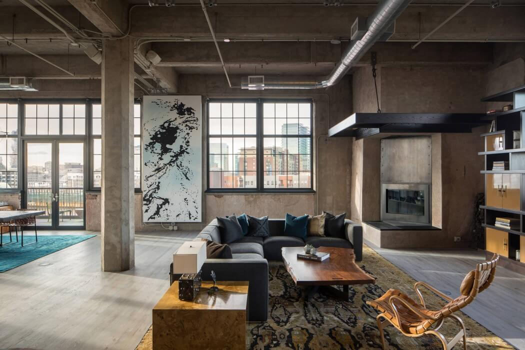 industrial studio apartment. Industrial Loft By Studio Gild  HomeAdore