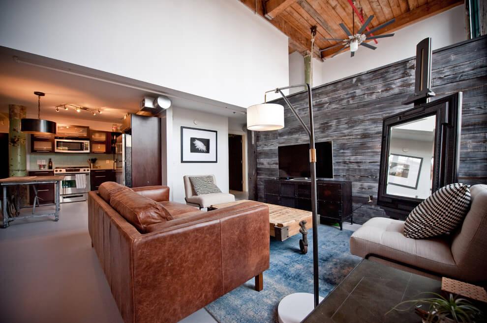 Loft in Atlanta by Heirloom Design Build HomeAdore
