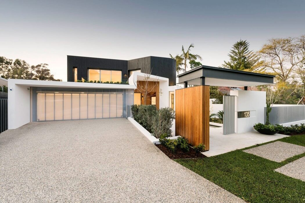 Contemporary Home by Hillam Architects