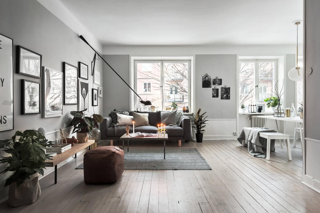 Scandinavian Home Simple Apartment In Stockholmscandinavian Homes  Homeadore Inspiration Design