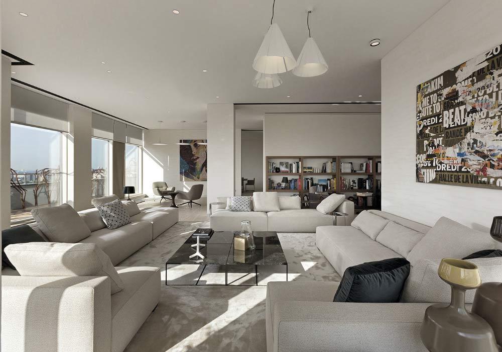 Kiev Apartment by Minotti London & RBD
