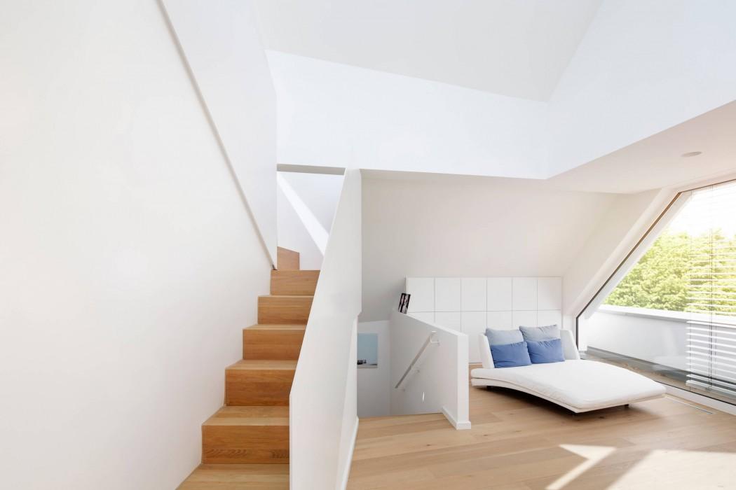 Falke Architekten Köln house in marienburg by falke architekten homeadore