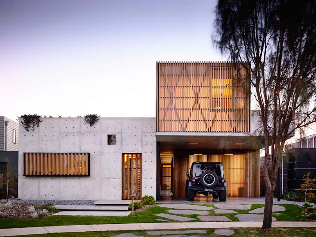 torquay concrete house by auhaus architecture homeadore - Concrete House 2016