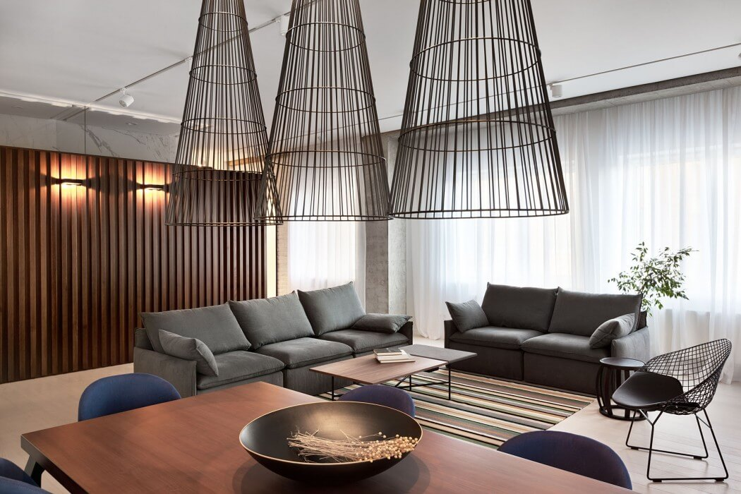 Apartment in Dnepropetrovsk by Nottdesign