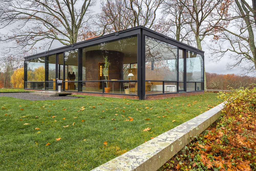 The Glass House by Philip Johnson HomeAdore