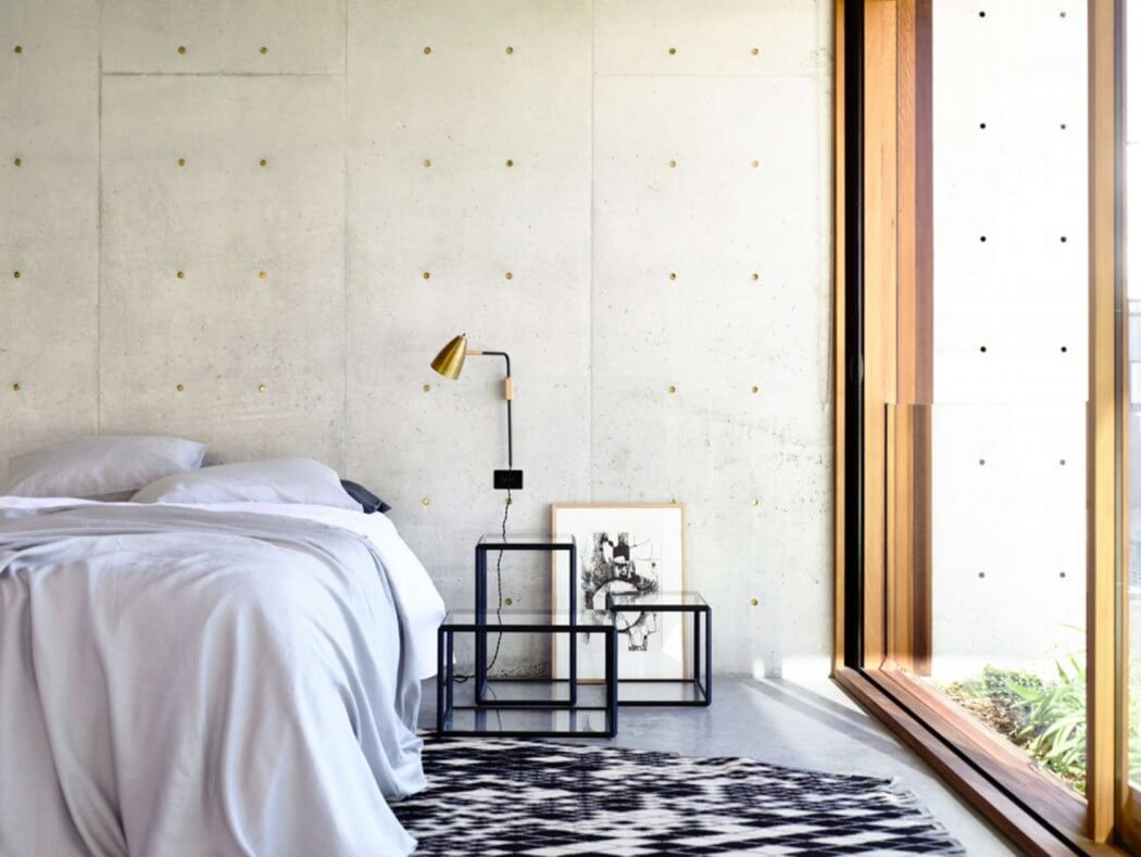 torquay concrete house by auhaus architecture - Concrete Bedroom 2016
