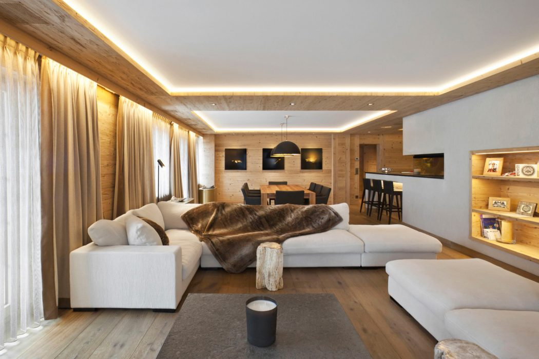 Apartment in Rougemont by Plusdesign