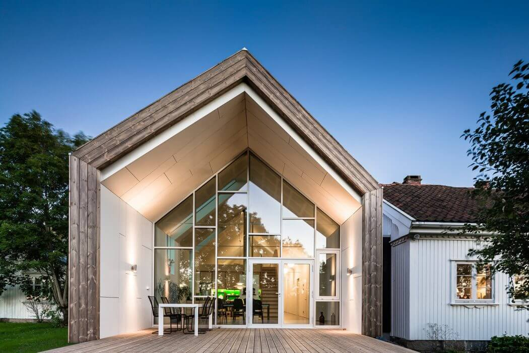 House in Fredrikstad by Link Arkitektur
