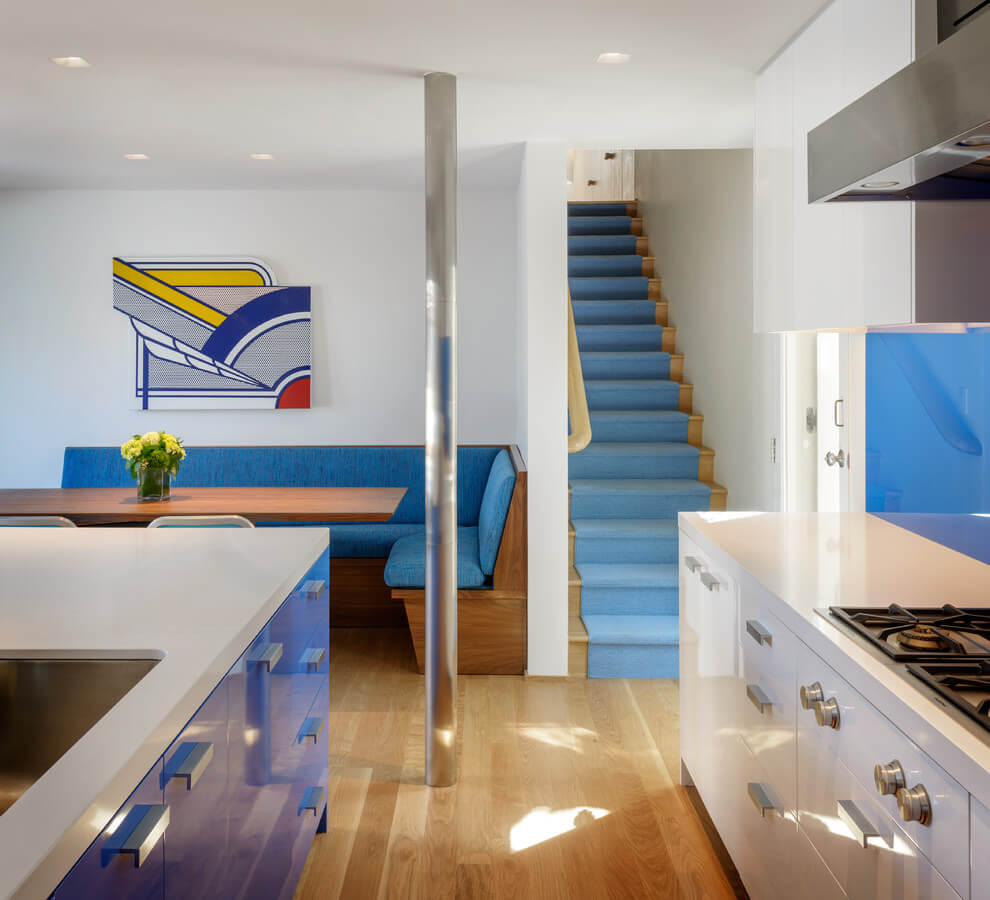 Modern beach house by eddie lee homeadore for Couleur interieur maison moderne