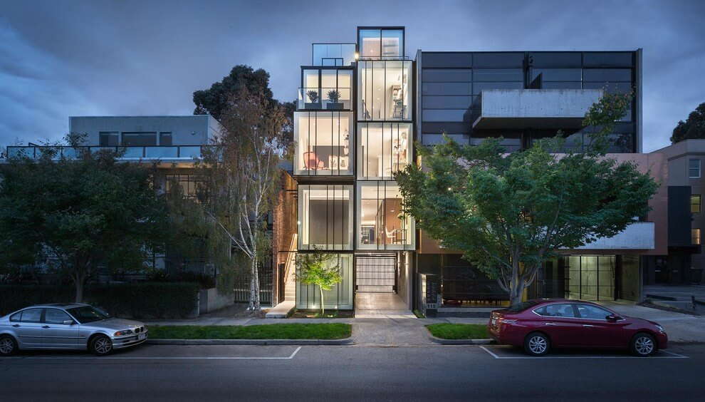 ST Kilda House by Matt Gibson Architects